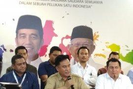 Yusril dan Tim Hukum silaturahmi dengan Jokowi
