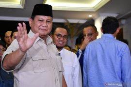 Prabowo menyatakan koalisi Indonesia Adil Makmur telah selesai