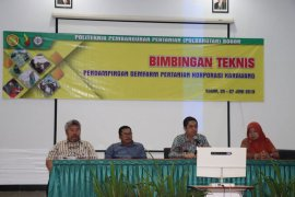 Polbangtan Bogor beri pembekalan pendampingan korporasi petani di Karawang