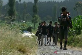 Pendaki Gunung Sindoro meningkat pada libur sekolah