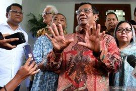 Mahfud MD menilai kontestasi politik di Indonesia selalu berujung rekonsiliasi