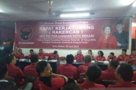 PDIP Bekasi putuskan tetap mendukung Megawati jadi ketua umum