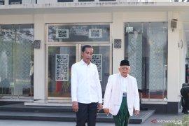 Pesan Jokowi dan Ma'ruf, masyarakat terus rukun usai pemilu