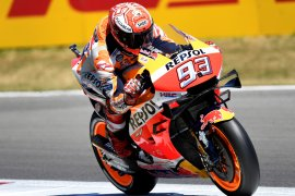 Marquez: Laju Yamaha dan Suzuki sangat cepat di Belanda