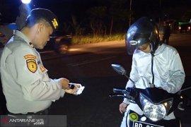 Berantas curanmor, polisi razia di Sungai Hitam