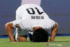 Mohamed Salah cetak gol saat Mesir bukukan rekor sempurna grup Piala Afrika