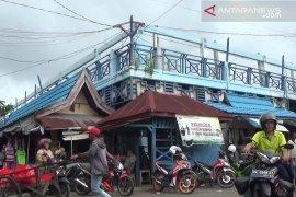 Bangunan dua blok pasar Kemakmuran Kotabaru  segera direhab