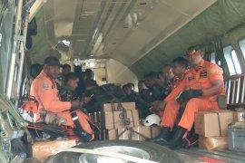 Tim darat disebar melakukan penyisiran cari helikopter MI 17