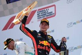 Tak ada Orange Army pada saat Verstappen incar hat-trick di Austria