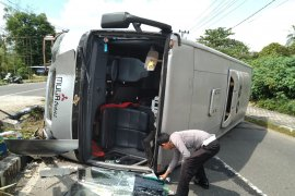 Kapolres Belitung: kecelakaan bus pariwisata faktor lalai