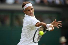 Federer potensi cetak kemenangan ke-100 di arena Wimbledon