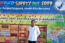 BBPOM Banjarmasin ajak masyarakat awasi peredaran makanan tidak sehat