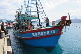 KKP terima satu kapal ilegal tangkapan Bakamla