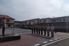 198 personel Polrestabes Medan naik pangkat