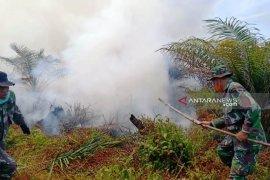 Tim gabungan berupaya padamkan karhutla di Nagan Raya yang meluas