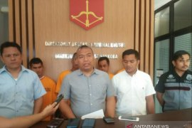 Ditreskrimsus Polda Babel tahan tiga penambang ilegal di kawasan bandara