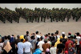 Pengiriman pasukan pengamanan perbatasan RI-Papua Nugini