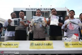 Pengedar narkoba di Surabaya ditembak mati polisi