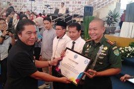 Dandim 0602/Serang dapat penghargaan dari BNN Provinsi Banten