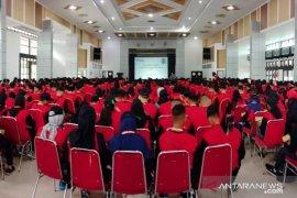 Siswa BJRB TNI AL belajar sejarah tambang di Museum Timah Indonesia