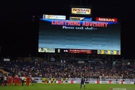 Di Piala Emas, pertandingan Jamaika lawan AS dihentikan karena cuaca buruk