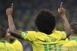 Willian absen di final Copa America karena cedera