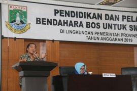 Pemprov Banten meningkatkan kompetensi sekolah dalam pengelolaan BOS