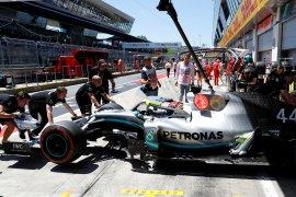 Lewis Hamilton puncaki sesi latihan bebas pertama Grand Prix Austria