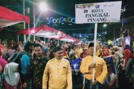 Pemkot Pangkalpinang turut meriahkan pawai budaya Rakernas Apeksi Kota Semarang