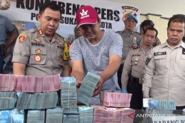 Gagal rampok uang Rp1,2 miliar di Sukabumi, penjahat tewas
