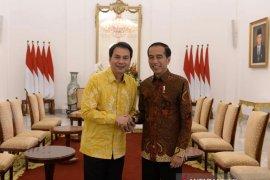 Aziz Syamsuddin dukung Airlangga Munas Golkar Desember 2019