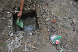 127.977 warga Gunung Kidul terkena dampak kekeringan