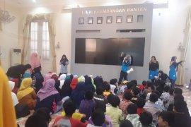 Isi liburan sekolah ratusan anak kunjungi museum negeri Banten