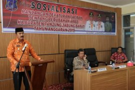 Wabup Tanjabbar sosialisasikan Ranperda APBD-P 2019
