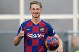 Frankie de Jong harap de Ligt ikuti jejaknya gabung ke Barcelona