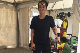 Elga Kharisma masih merasa kaku setelah setahun vakum BMX