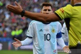 Messi tuduh kartu merah di Copa America gara-gara kritik