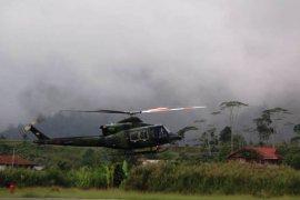 Pencarian helikopter MI 17 dari darat dan udara belum membuahkan hasil