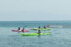 Untuk taklukkan Danau Toba, Tim Ekspedisi Kayak Pelajar Indonesia kuak proses latihan