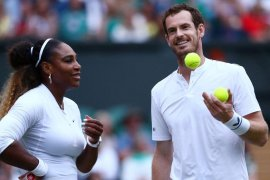 Petenis Serena Williams didenda 10 ribu dolar AS