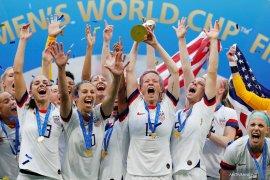 Donald Trump ucapkan selamat kepada Timnas putri AS juara Piala Dunia