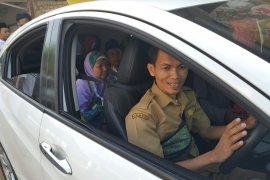 Pemkab Purwakarta kerahkan kendaraan dinas antar calon haji