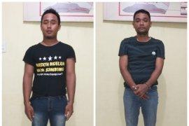 Polisi Langkat ringkus dua tersangka pemilik 43 gram sabu-sabu