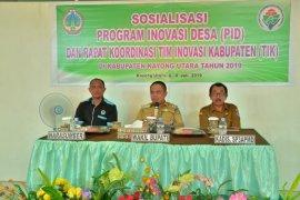 Wabup Kayong utara sosialisasi program inovasi desa