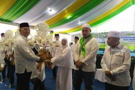 Halalbihalal dan pemberangkatan jamaah calon haji Kota Medan