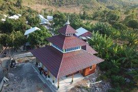 PMI membangun lima masjid tahan gempa di NTB