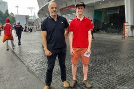 Warga Swedia datang ke SUGBK sebagai The Jakmania