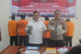 46 kasus narkoba sudah ditangani Polda Malut
