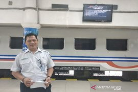 Volume angkutan barang kereta api Sumut naik tiga persen