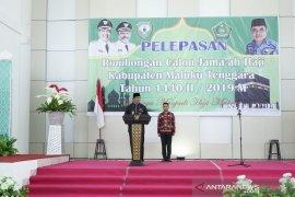 Bupati Maluku Tenggara lepas 97 JCH